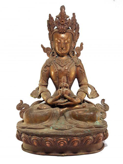 copper Aparmita Statue