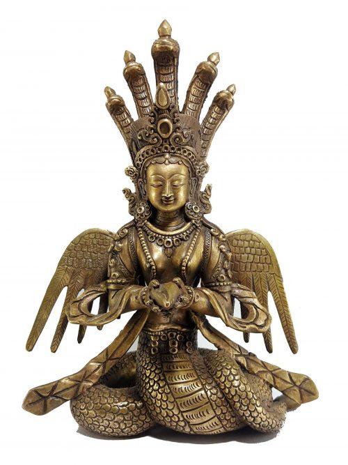 Naga Kanya Statues
