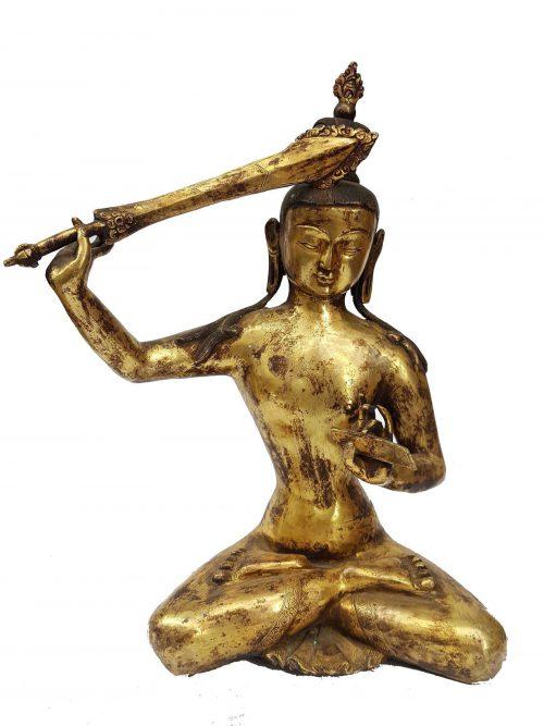 Statue of Manjushree