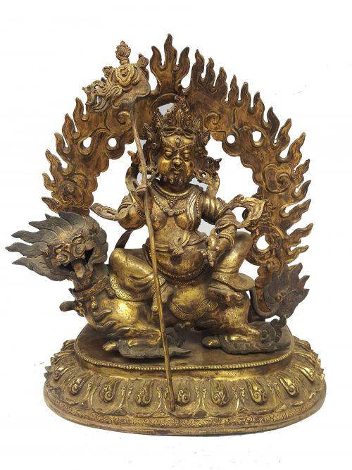 Statue of Lion Jambala