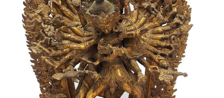 Statue of Kalachakra Shakti