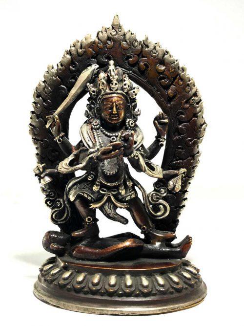 Statue of Mahakala 6 Arms