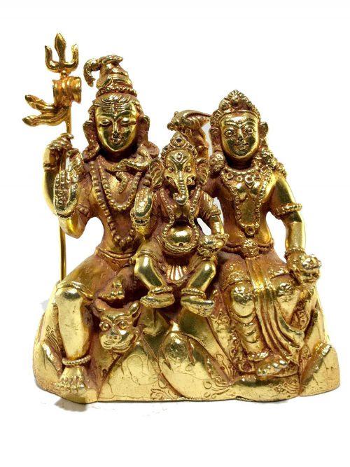 Statue of Shiva Family