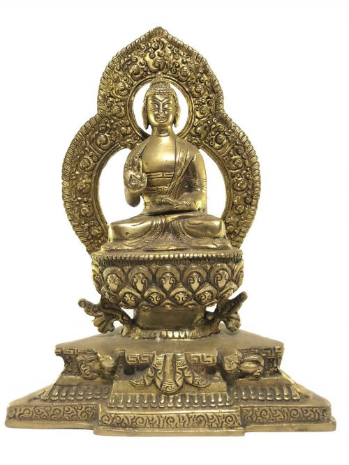 Statue of Amoghsiddhi Or Blessing Buddha