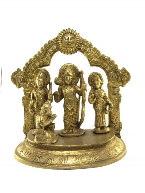 Statue of Family of Ram with Hauman