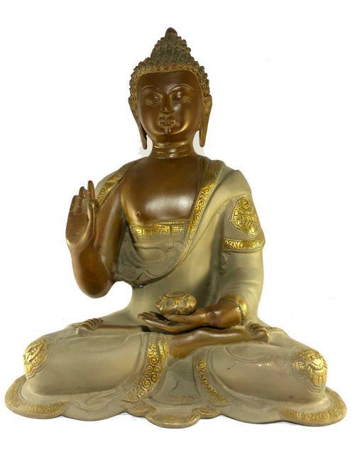 Statue of Amoghasiddhi Buddha Blessing Buddha
