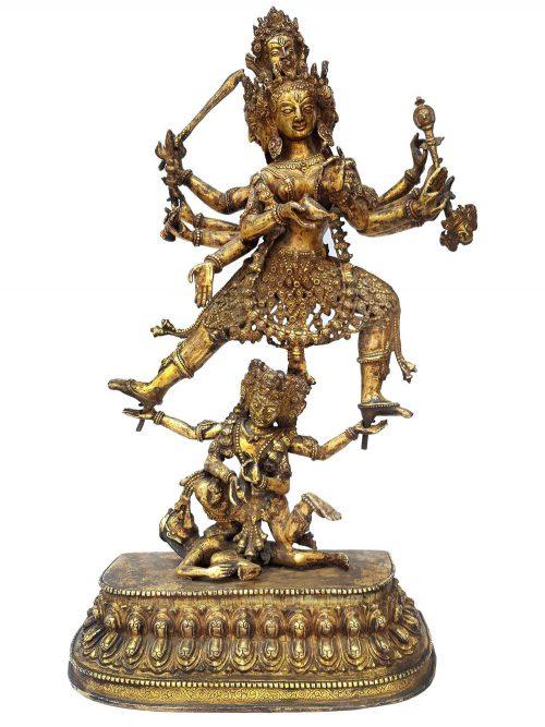 Tibetan Statue of Siddh Laxmi