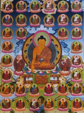 35 Buddhas