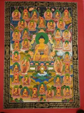 35 Buddha Thangka Painting from Nepal