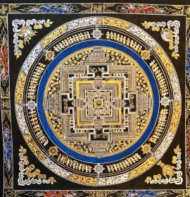 Kalachakra Mandala Painting
