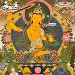 5 Manjushri Thangka Painting