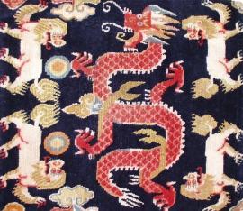 Tibetan Dragon Rugs