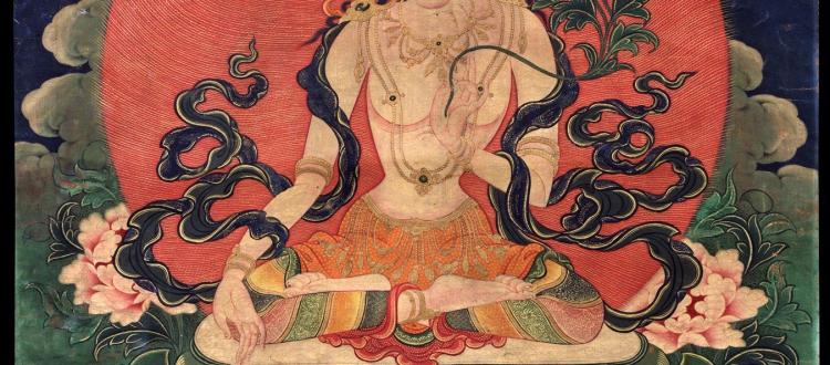 White Manjushri Bodhisattva Buddhist Deity