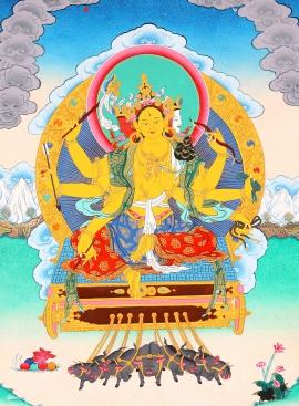 Marichi Thangka Painting