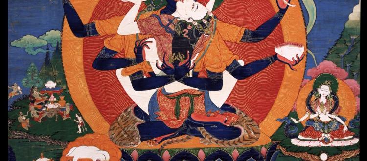 Yogambara Thangka
