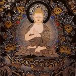 Buddha Vairochana Thangka