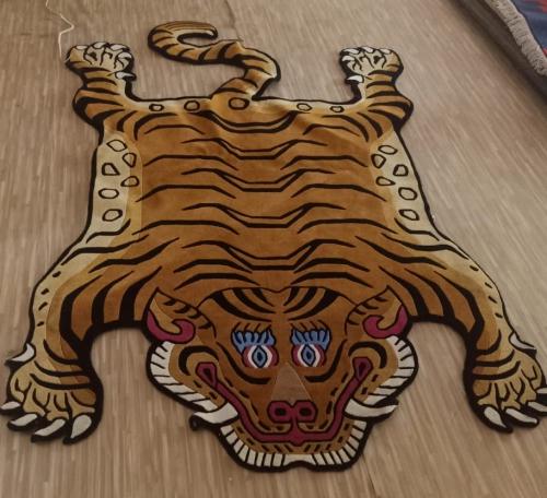 Extra Large Tibetan Tiger Carpet