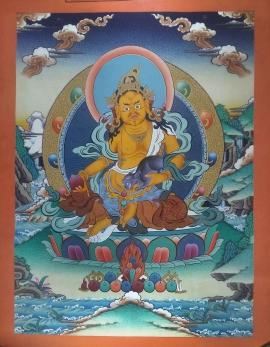 Yellow Jambhala - God of wealth