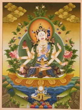 Namgyalma Thangkas