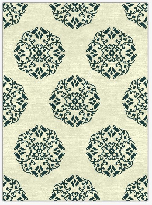Flower Design Carpet