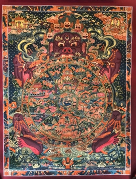Wheel of becoming Tibetan Art