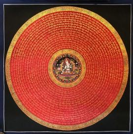 White Tara Ritual Mantra Mandala