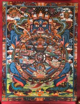 Ritual Reduk Thangka