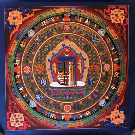 Kalachakra Mantra Mandala Art