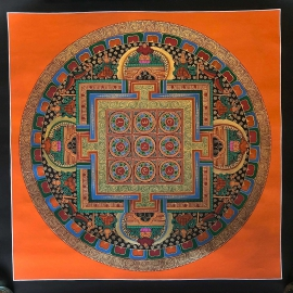 Tibetan Navagraha Mandala