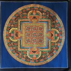 White Tara Mandala with 8 Auspicious Symbols