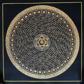 Mantra Mandala Thangka Art