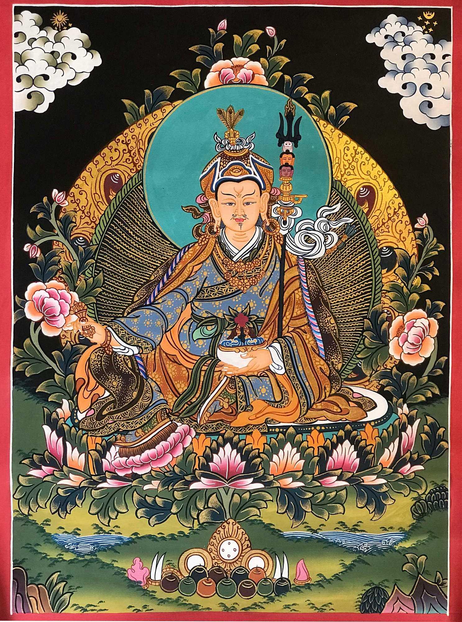 Padmasambhava Tibetan Art