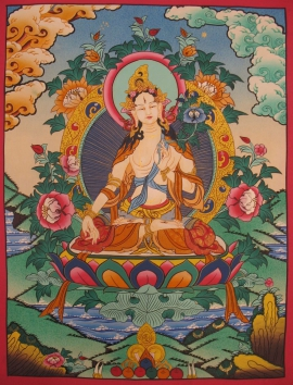Shayama Tara Tibetan ThangkaArt