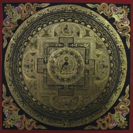 Medicine Buddha Mandala Art