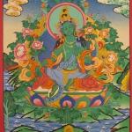 Drol Jang Tibetan Thangka