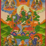 Traditional Green Tara Thangka