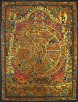 Wheel of Life Art