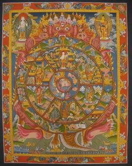 Wheel of Life Ritual Thangka