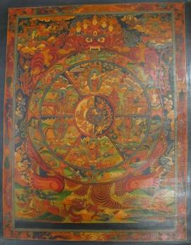 Traditional Art Wheel of Life