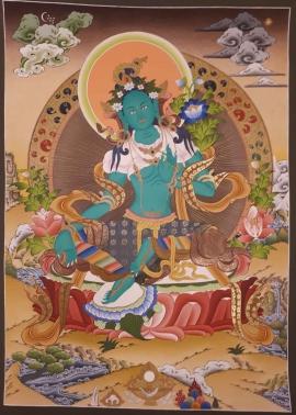 Mother of Liberation - Green Tara