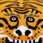 Tibetan carpet with tiger design