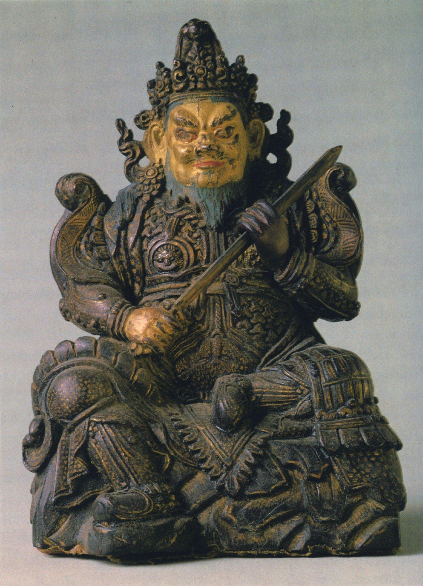 Old statue of virudhaka