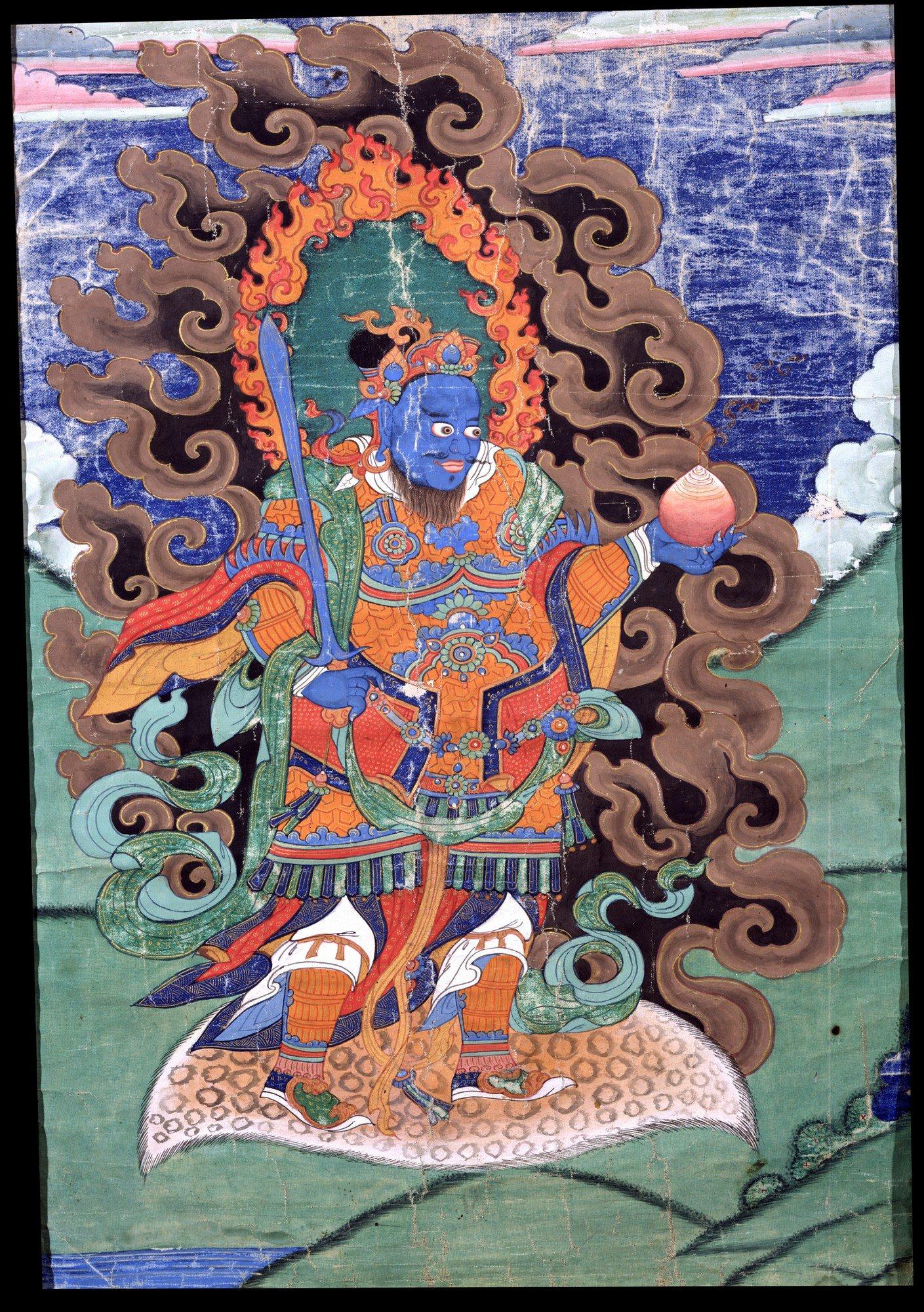 Virudhaka Thangka Art