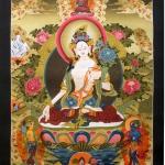 White Tara Art