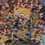 Vajrakilaya Tibetan Thangka