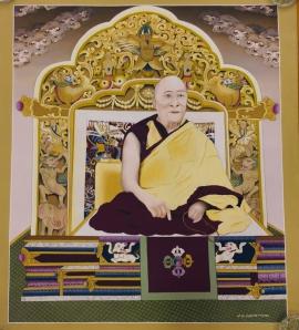 14th Dalai Lama, Tenzin Gyatso Thangka